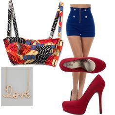 """""""50's modern"""" by ichollie-dominguez on Polyvore"""