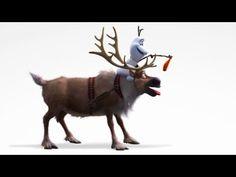 Die Eiskönigin - Völlig Unverfroren (Disney) - Clip - Olaf und Sven | HD
