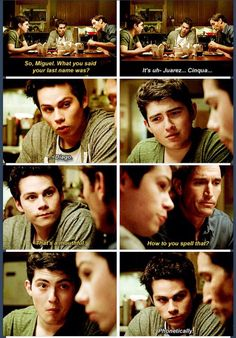 Teen Wolf Season 4 just look at Ian face the entire time