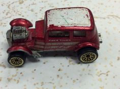 Vintage 1968 Hot Wheels Redlines '32 Ford Vicky Classic Car Metallic Red  | eBay
