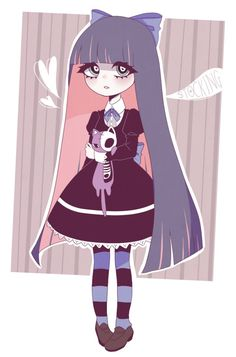 Stocking by ReinaGoth on DeviantArt