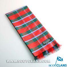 Clan Rose Tartan Silk Sash