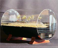 Lava Island...do mini model of product demo?