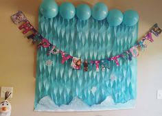 Photobooth backdrop I did. Very easy to do. Got everything from the dollar tree.