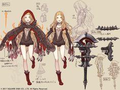 Yoko Taro's New Game SINoALICE Gets 70,000 PreRegistrations, Charming Character Art