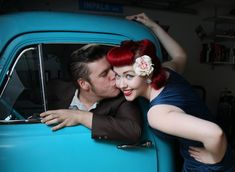 This wonderful photo was taken by my best friend Jodie, it shows our love for each other to a T, Les makes my cheeks tingle whenever he kisses them and I am so lucky to call him mine <3 This photo has made it all around the internet, and has popped up on various rockabilly facebook groups, we really appreciate you sharing our photo- it means alot to us and we are glad you guys love it too