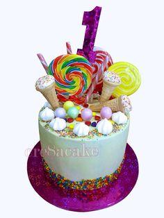 Sugar Overload , Lolly Cake