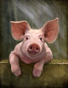 Jeremy Norton illustration - Piggy by JeremyNorton.deviantart.com on @deviantART