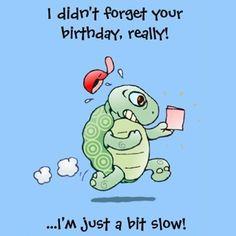 Belated Happy Birthday Wishes, Happy Birthday Nephew, Happy Late Birthday, Birthday Wishes Funny, Happy Birthday Greeting Card, Happy Birthday Messages, Happy Birthday Images, December Birthday, Humor Birthday