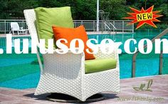 Wicker_swivel_rocking_chair. Outdoor Chairs, Outdoor Furniture Sets, Bamboo Chairs, Outdoor Decor, Ratan Furniture, Rattan, Wicker, Swivel Glider, White Slip
