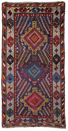 Lori rug, Approximately 8ft. 7in. x 4ft. 4in. (262x132cm), Persia circa 1890
