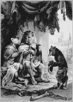 Joseph Wolf: Before the King and Queen; Reynard the Fox.