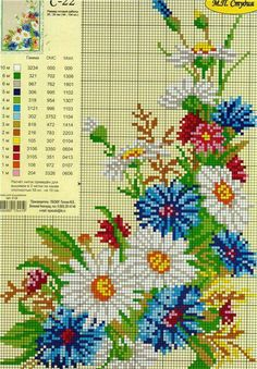 cross-stitch chart