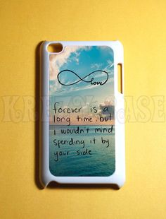Ipod Touch 4 Case  Forever Love ipod touch 4 case  by KrezyCases, $15.95