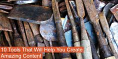 Use these 10 tools to speed and simplify your content creation, and get amazing…