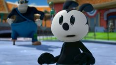 Oswald the Lucky Rabbit 「Epic Mickey 2: The Power of Two」 The best face ever! That's the same innocent face I pull on my wife!!