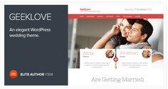 GeekLove v2.1.2 - Responsive Wedding WP Theme Free Download