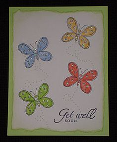 I like these colors.  And I love these butterflies; they look so Jane drawn!