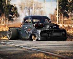 Afternoon Drive: Hot Rods & Rat Rods Photos) - A hot rod is a specific type of automobile that has been modified to produce more power for racing straight ahead. The hot rod originated in the early. Rat Rod Trucks, Rat Rods, Cool Trucks, Chevy Trucks, Pickup Trucks, Big Trucks, Semi Trucks, Chevy Pickups, Rat Rod Pickup