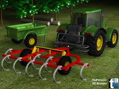 013 - Ref. FarmScene1 :: 3D Farm Scene - TAEVision Engineering - Solutions for Agriculture, Farm...