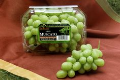 #Melissas Muscato grapes vary in color from green and red to black. All the Muscato grape varieties are a cross hybrids of really sweet grape varieties. Melissa's Muscato grapes provide a perfect summer snack with their crisp texture and mouthwatering, sweet and juicy interior.