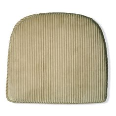 Plush Corduroy Flat Chair Pad