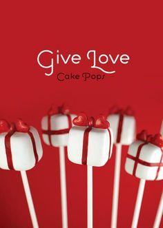 Sweet Valentine Present Cake Pops Present Cake, Gift Cake, Christmas Cake Pops, Valentines Day Cakes, Bakerella, Little Presents, Cookie Pops, Brownie Pops, Marshmallow Pops