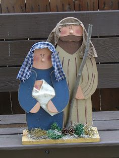 Christmas Wood Crafts Diy Projects Nativity Scenes 59 Ideas For 2019 Christmas Manger, Christmas Yard Art, Christmas Wood Crafts, Outdoor Christmas, Christmas Projects, Holiday Crafts, Vintage Christmas, Christmas Decorations, Nativity Crafts