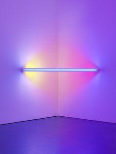 "contemporary-art-blog: ""  Dan Flavin, untitled (to Virginia Dwan) 2, 1971 """