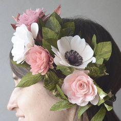 "708 Likes, 30 Comments - Lucia Balcazar (@luciabalcazar) on Instagram: ""Flower crowns are for bad hair days Coronas de flores para cuando el pelo no quiere cooperar…"""