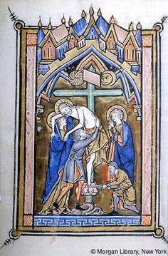 Psalter-Hours, MS M.97 fol. 18v - Images from Medieval and Renaissance Manuscripts - The Morgan Library & Museum