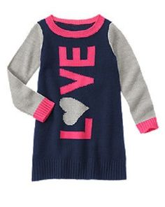 NWT Gymboree Fall Spring Woodland Wonder Bear Sweater Dress Girl 4 4T
