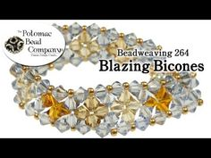 Beadweaving 264 - Blazing Bicones - YouTube free tutorial from The Potomac Bead Company. Potomac bead company has hundreds of tutorials on YouTube and tens of thousands of products (gemstones, crystals, glass, seed beads, pendants, silver, findings, tools & more) in retail bead stores and on TheBeadCo.com! www.potomacbeads.com www.thebeadco.com