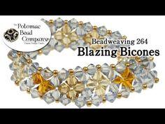 Blazing Bicones~ Seed Bead Tutorials