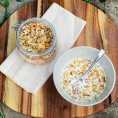 Brooke's Kitchen of Culinary Dreams: Grain Free Coconut Crunch Mango Granola
