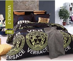 Versace Modern beautiful design, soft and pleasing cotton bedding set. will fit in your living room or bedroom. Gold Bedding Sets, Bed Comforter Sets, Cotton Bedding Sets, Bedroom Sets, Home Decor Bedroom, Blue Comforter, Bedrooms, Bedroom Inspo, Costume Queen