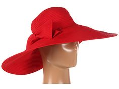 San Diego Hat Company Ribbon XL Brim Floppy Red - Zappos.com Free Shipping BOTH Ways