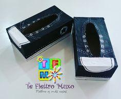 Te Fieltro Muxo: Zapatillas cuadradas... moooolan
