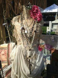 Lovely dress form via Mora's antiques