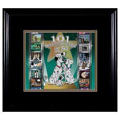 Limited Edition 50th Anniversary 101 Dalmatians Cel | More Art | Disney Store | $594.50