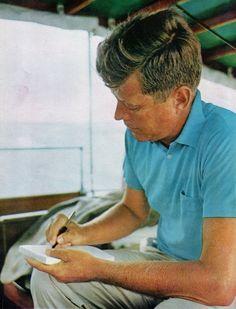 President elect John F.Kennedy ---- 1960