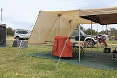 HOW TO MAKE A SHADE CLOTH FOR YOUR CAMPER TRAILER