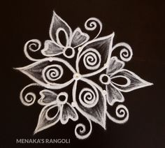 Rangoli Side Designs, Simple Rangoli Designs Images, Free Hand Rangoli Design, Rangoli Borders, Small Rangoli Design, Rangoli Ideas, Rangoli Designs With Dots, Rangoli Designs Diwali, Beautiful Rangoli Designs