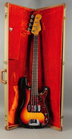 1963 Fender Precision - I played one for years, till it got so valuable I was afraid to take it out of the house!