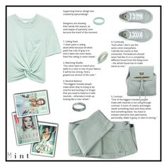 """Mint"" by puljarevic ❤ liked on Polyvore featuring Bling Jewelry, Tiffany & Co., GREEN and mint"
