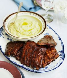 Australian Gourmet Traveller southern American recipe for barbecue ribs. *tested. KKAAAN Approved*