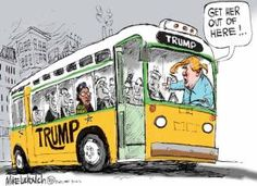Political Cartoons of the Week: Trump and Rosa Parks