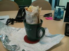 Novelty Office Burrito Holder