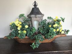Decorated my dough bowl/trencher for Spring!