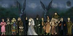 Hogwarts professors Can you name them all and which subject they teach?
